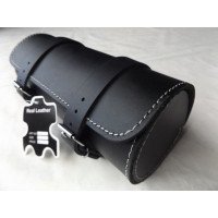 MOTORCYCLE MOTORBIKE GENUINE LEATHER TOOL ROLL SADDLE BAG TR10